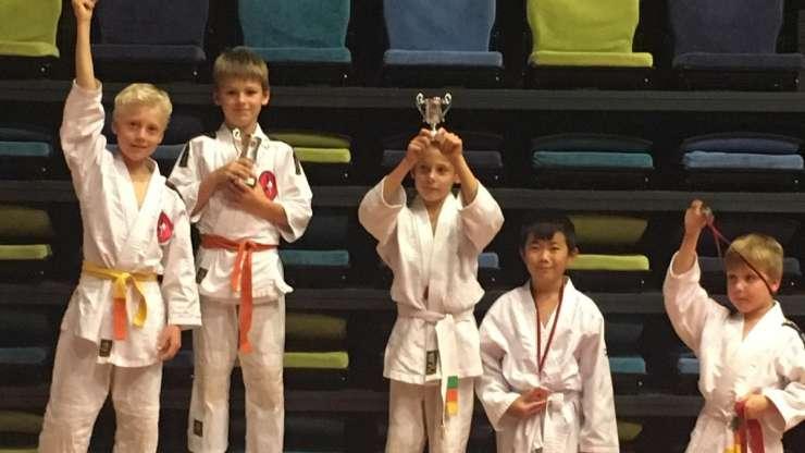 Judotoernooi in Oud-Vossemeer