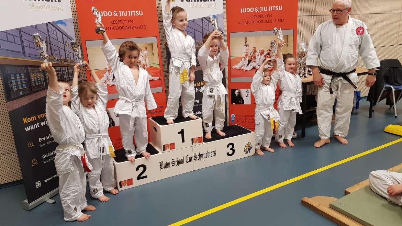 Clubkampioenschappen 7 Maart 2020 Budoschool Cor Schuurbiers